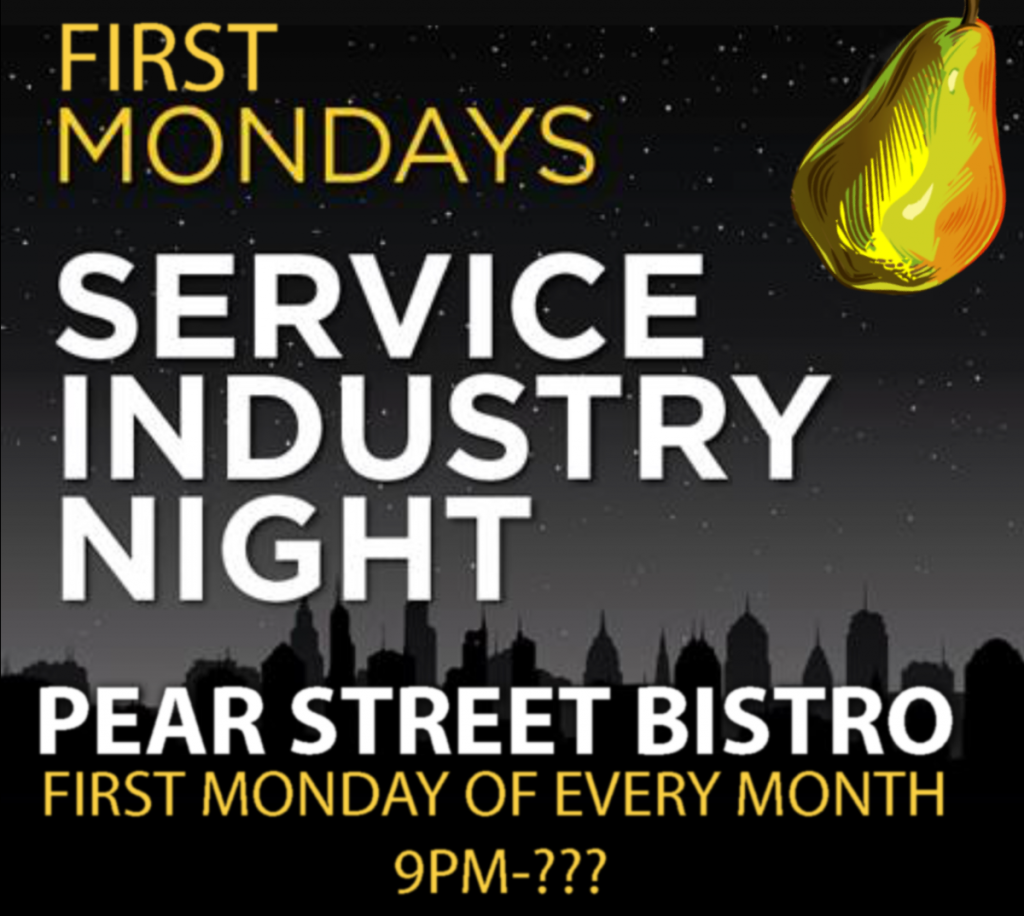 Industry Night @ Pear Street Bistro Lounge | Pinole | California | United States